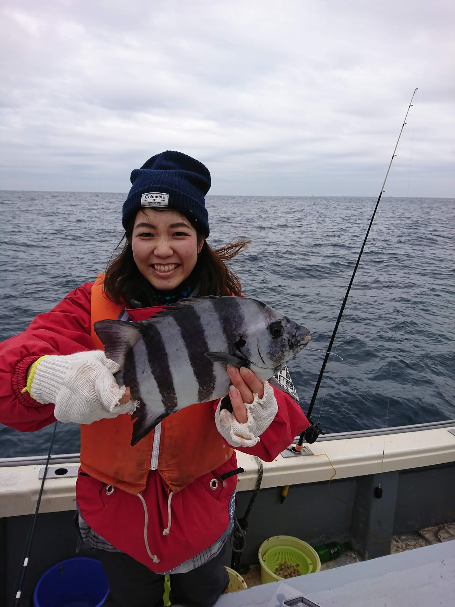 1月12日午後船の釣果